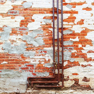 """Repaired Wall"" Wilmington Illinois"