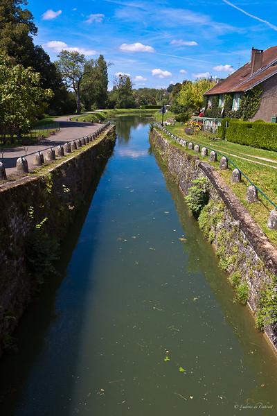 Sur les bords du Doubs - Jura - France