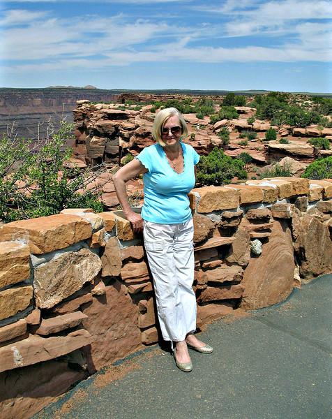 JoAnn at Dead Horse Point