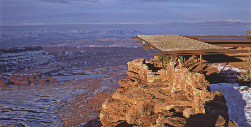 Dead Horse Point in winter