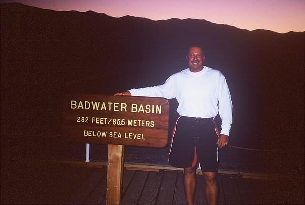 Death Valley, CA  May 28-31 2004 & June 9-13 2004