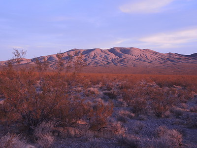 Sunrise, Death Valley, 11-08-2017, photo by Sherry
