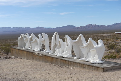 Rhyolite sculpture of the Last Supper, 11-08-2017.