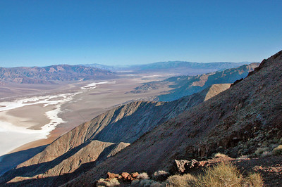 Looking northwest from Dante's View into Death Valley.