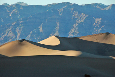 Sand Dunes outside of Stovepipe Wells.