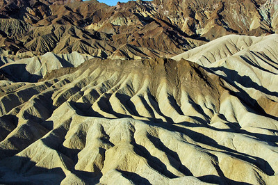 Foothills to the south of Zabriskie Point.