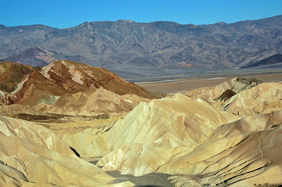 Foothills below Zabriskie Point.