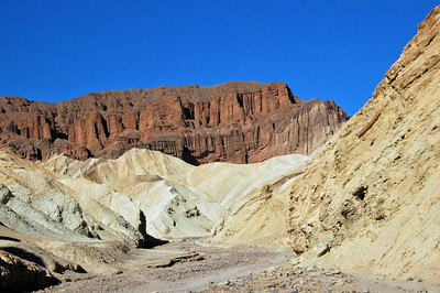 Red Canyon in Death Valley.