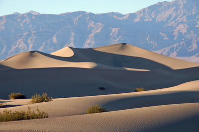 Sand Dunes just east of Stovepipe Wells