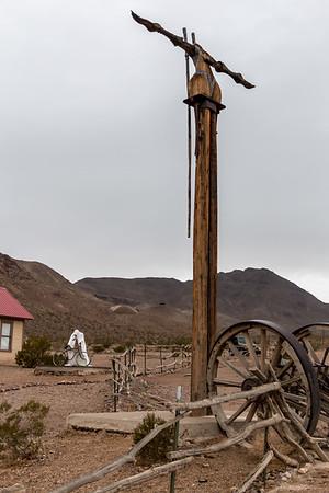 Death Valley Rhyolite Ghost Town