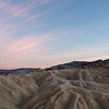 Sunset at Zabriskie Point