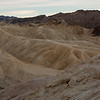 One of the many rock formations that abound throughout Death Valley and at Zabriskie Point