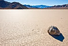 """Sailing Rock"" at Racetrack Playa, Death Valley, California"