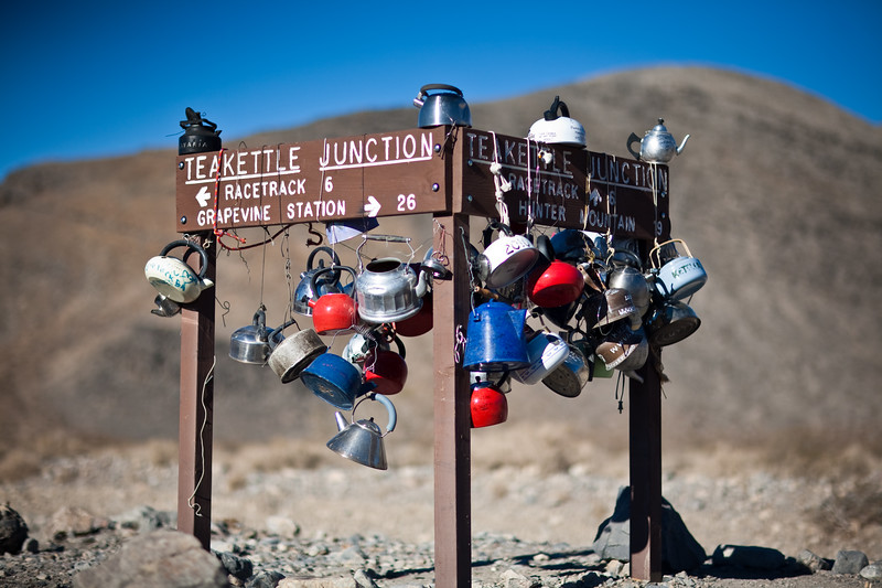 Teakettle Junction, Death Valley, CA
