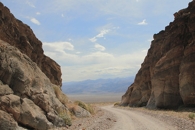 Death Valley, Titus Canyon and Leadfield Ghost Town