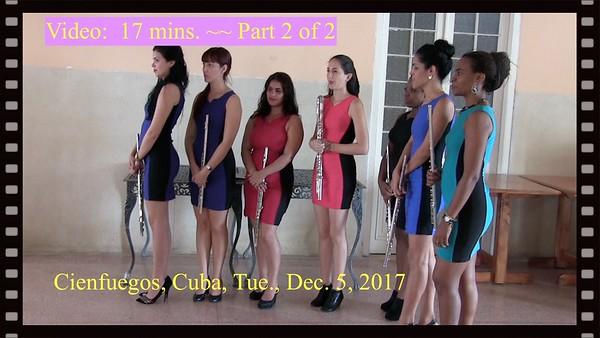Video:  17 minutes - Female Muscians - Part 2