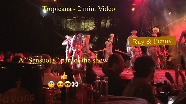"Video:  2 mins ~~ ""Steamy"" Tropicana  ; > )"