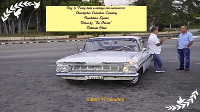 Video:  17 minutes - Vintage Car Excursion, Sat., Dec. 2, 2017 - 3:30pm