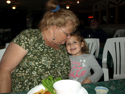 Kathy & Granddaughter Layah