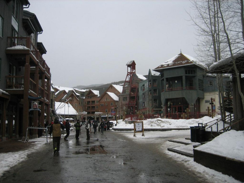 Keystone, before the snow