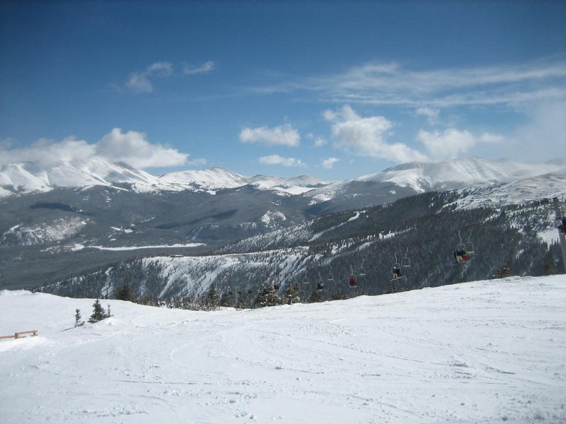 scenic shots of the Rockies