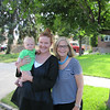 We spent one night in Denver, before flying back to NY.  On our way to the Denver Botanic Gardens, we stopped off to see the latest addition to the family -Ivy, Here she is withh mom Katharine and grandma Mary.
