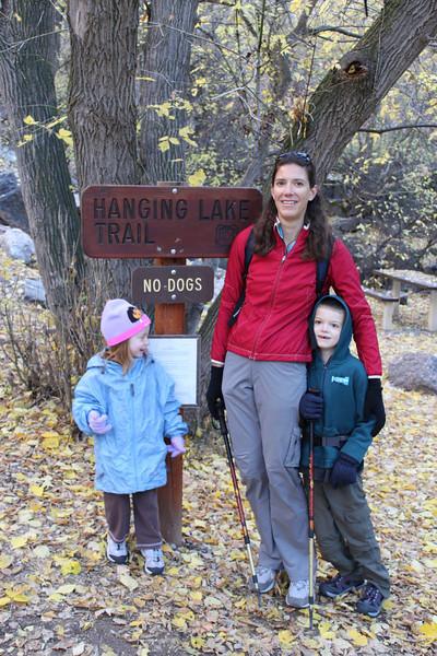 First Hike -- Hanging lake by Glenwood Springs