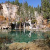 The Hanging Lake --- very clear water