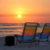 Sunset on Destin Beach.