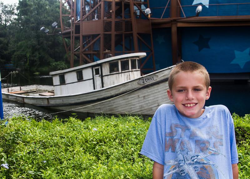 Bubba Gump Shrimp Boat.