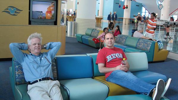 Disney Cruise December 2009 with Manwaring Family