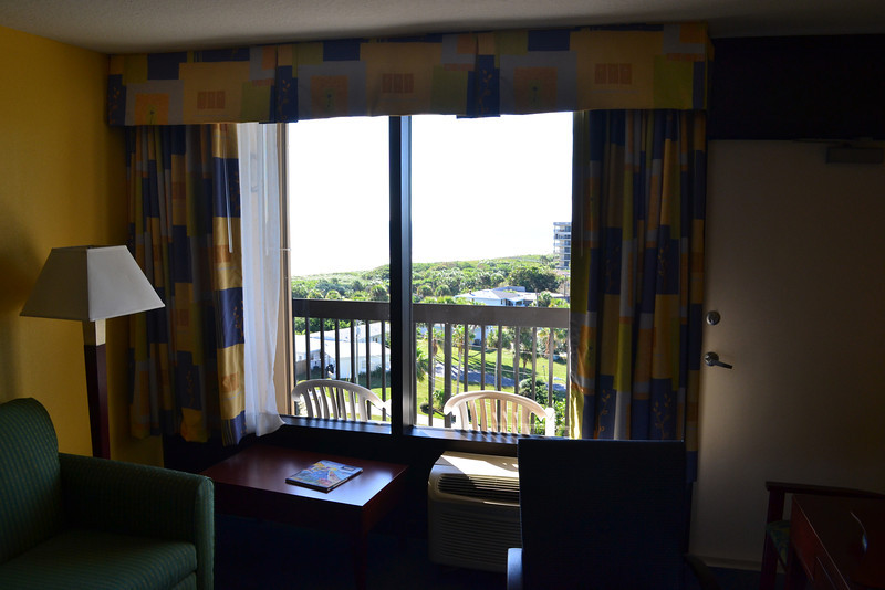 View from the Hampton Inn in Cocoa Beach