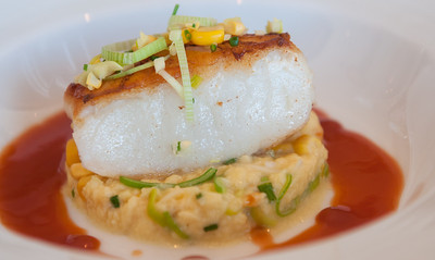 Sea Bass,Egg,Thai Sauce* Chef Arnaud Lallement