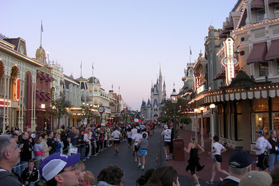 Disney Marathon, Sunday, January 11, 2009