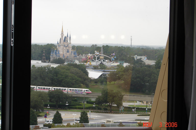 View from our room - Contemporary Resort.