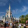 The Magic Kingdom castle