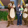 Sarah and Eve meet Chip and Dale