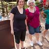 Sarah and Mum at the Magic Kingdom