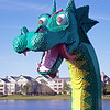 Lego Sea Monster at Downtown Disney