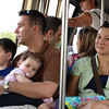 on monorail<br /> We rode around the day we got there<br /> One of Nate's favorite parts of Disney is the monorail