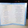 Parrot Cay menu