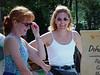Karen and her friend Kristy partake in mini golf at Blizzard Beach.