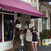 Evelyn and Heather with Chip and Dale