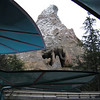 View of the Matterhorn from Alice in Wonderland