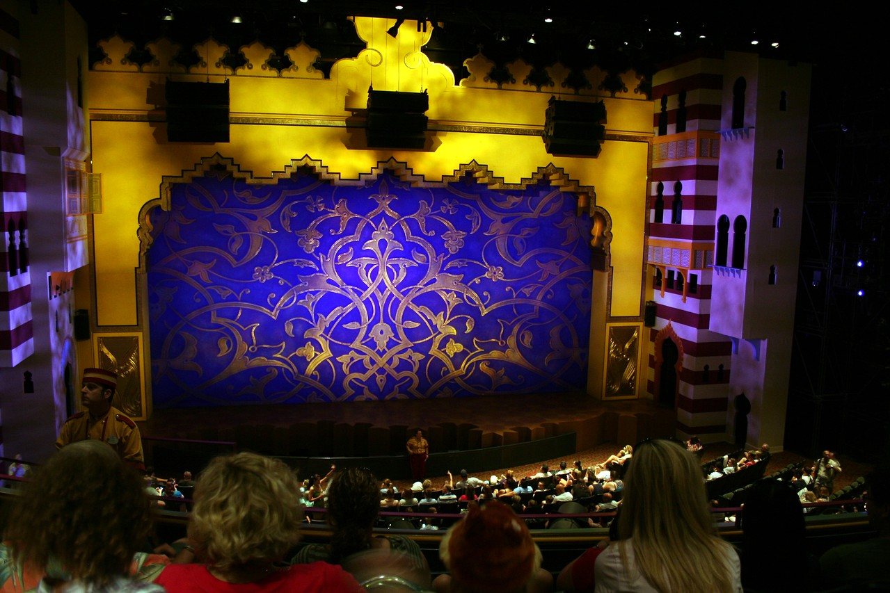 We went and watched Disney's Aladdin: A Musical Spectacular