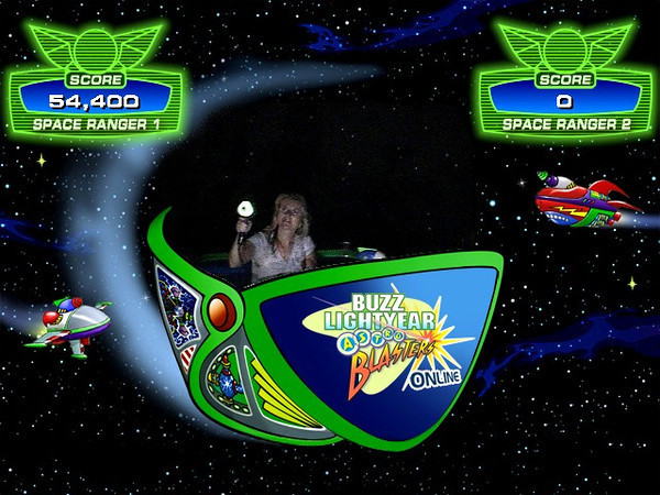 That was my score for the Buzz Lightyear game