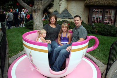 The Sheppard Family enjoying a Tea Break.