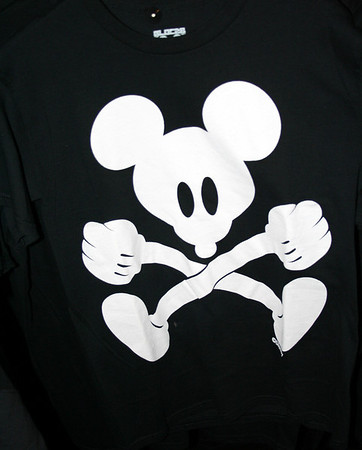 For all the skaters out there do you remeber the Rat Bones?  Well how about Mickey Mouse Bones?