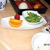 Edamame appetizer at Yamabuki.