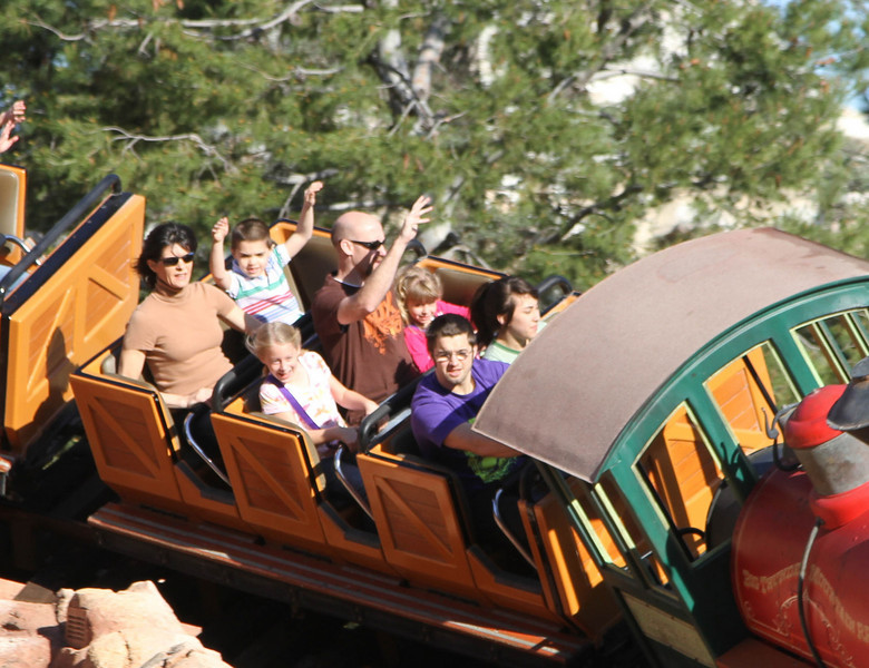 Johnny and Sally on Thunder Mountain